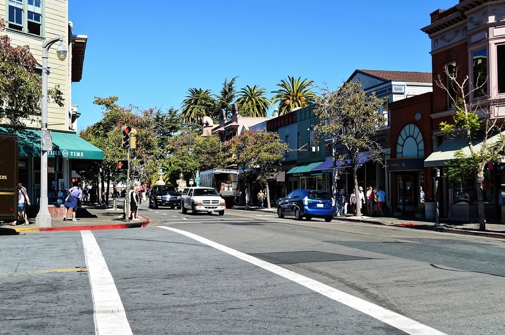 Street in California