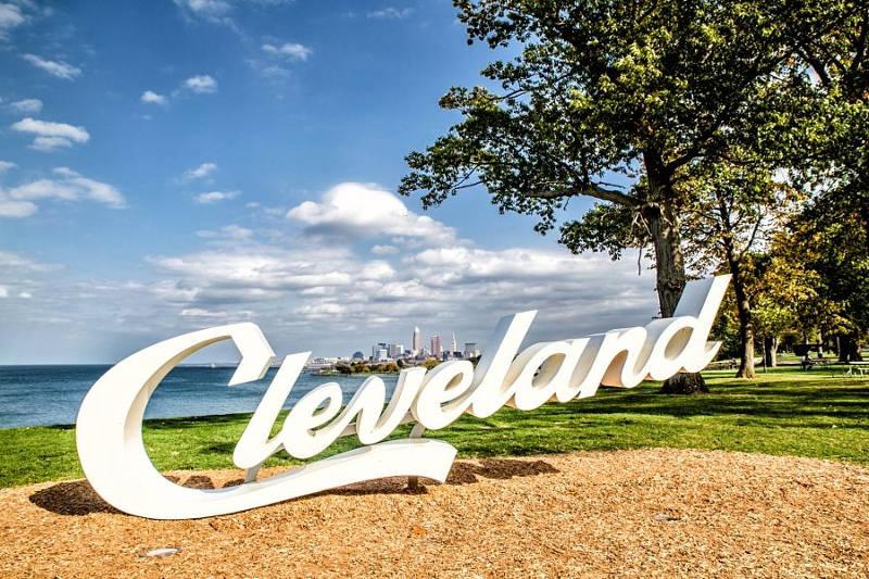 Cleveland Ohio sign