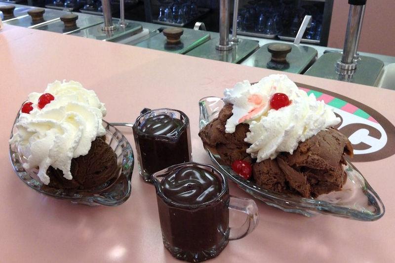 Malley's Chocolates ice cream